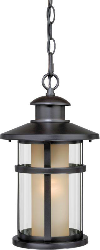 Vaxcel Lighting T0089 Cadiz 1 Light Outdoor Lantern Small Pendant Oil