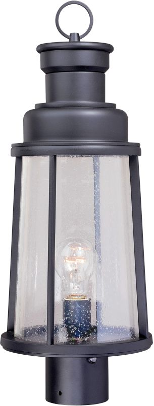 Vaxcel Lighting T0095 Coventry 1 Light Outdoor Post Light Dark Bronze Sale $178.00 ITEM: bci2587894 ID#:T0095 UPC: 884656731811 :