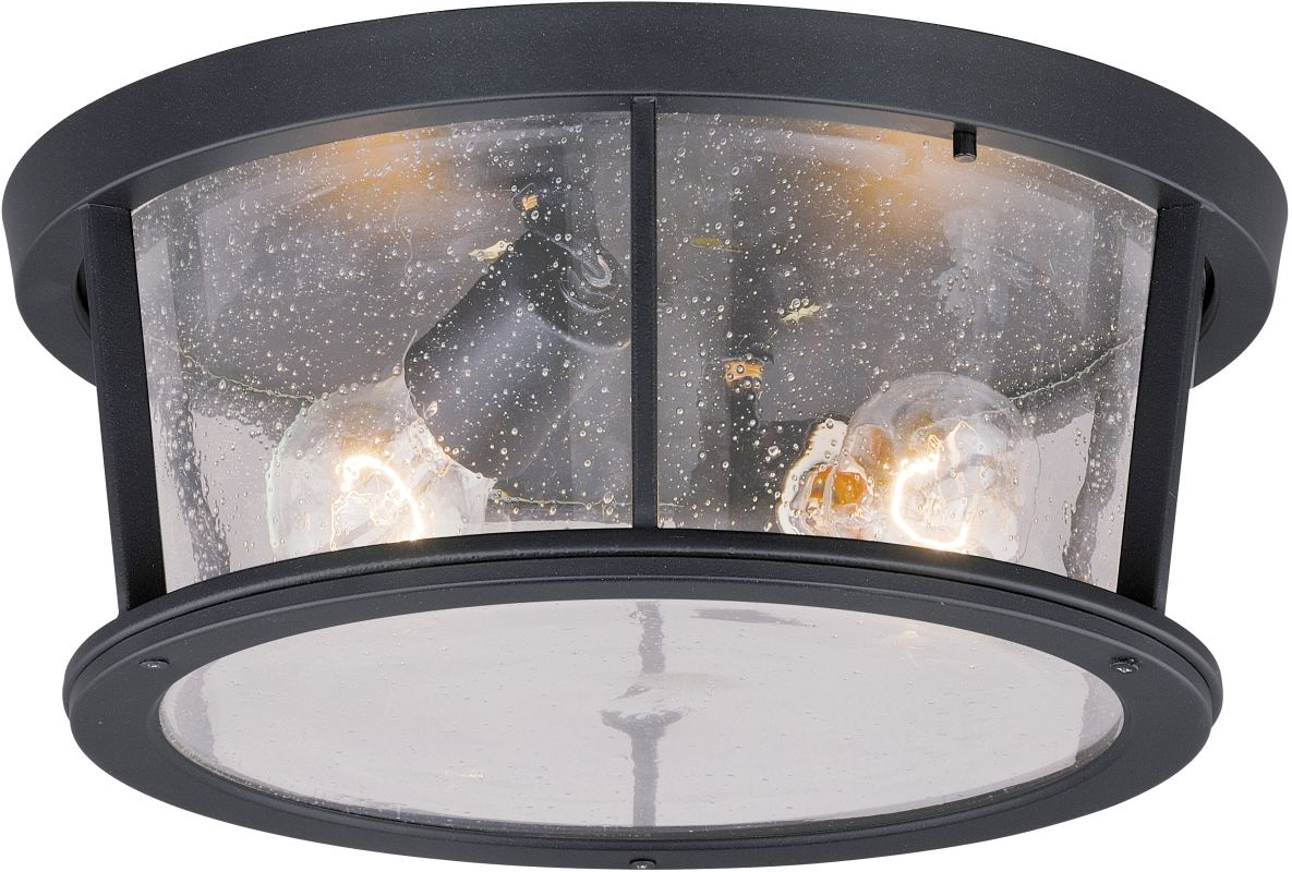 Vaxcel Lighting T0097 Coventry 2 Light Flush Mount Outdoor Ceiling