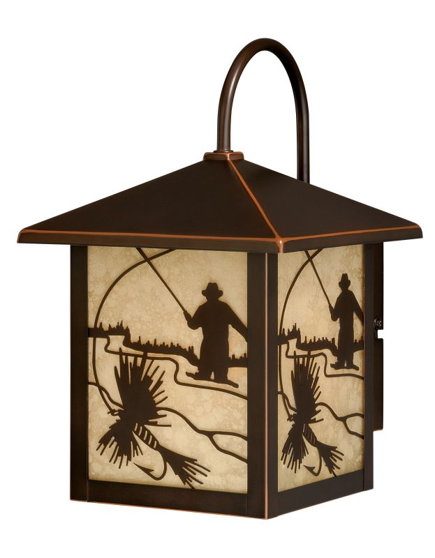"Vaxcel Lighting T0111 Mayfly 1 Light 6"" Wide Outdoor Wall Sconce with"