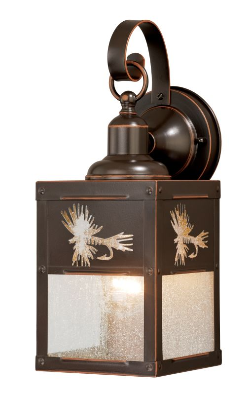 "Vaxcel Lighting T0116 Mayfly 1 Light 7"" Wide Outdoor Wall Sconce"