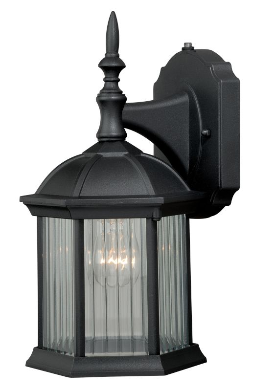 """Vaxcel Lighting T0130 Kingston 1 Light 5"""" Wide Outdoor Wall Sconce"""