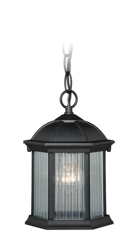 Vaxcel Lighting T0131 Kingston 1 Light Outdoor Pendant Textured Black Sale $60.00 ITEM: bci2628261 ID#:T0131 UPC: 884656733297 :