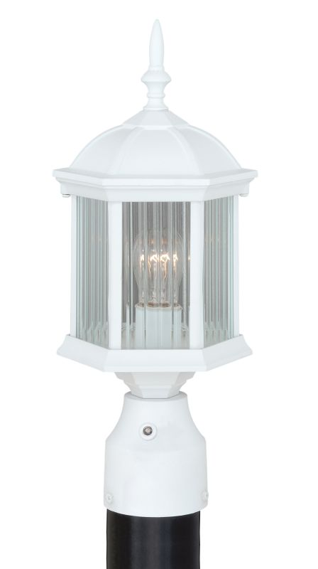 Vaxcel Lighting T0136 Kingston 1 Light Outdoor Post Light (Post Not