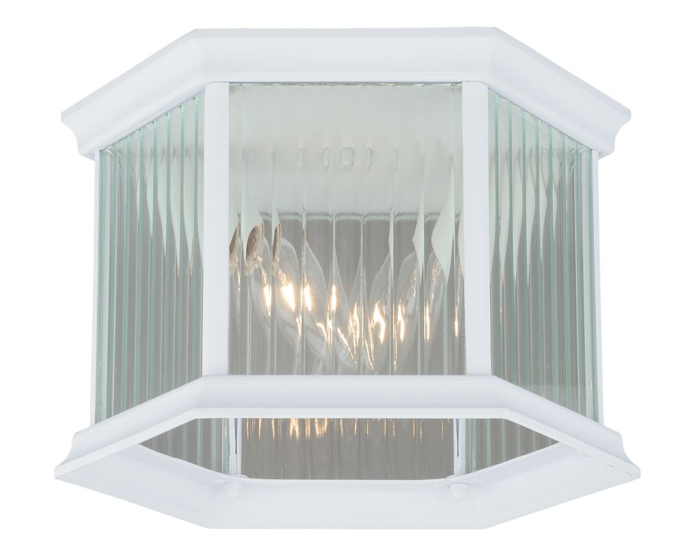 Vaxcel Lighting T0137 Kingston 2 Light Flush Mount Outdoor Ceiling Sale $60.00 ITEM: bci2628267 ID#:T0137 UPC: 884656733358 :
