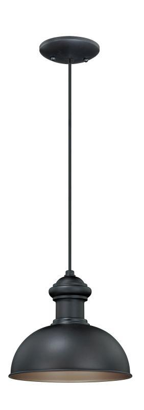 Vaxcel Lighting T0152 Franklin 1 Light Outdoor Pendant Oil Rubbed