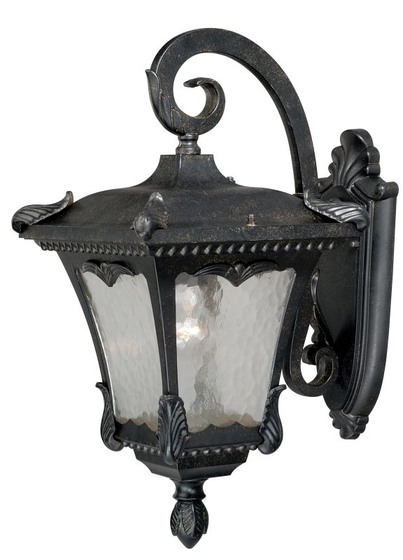 """Vaxcel Lighting T0159 Castile 1 Light 6"""" Wide Outdoor Wall Sconce with"""