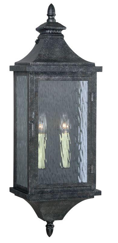 """Vaxcel Lighting T0202 Cavanaugh 2 Light 30"""" Tall Single Photocell"""