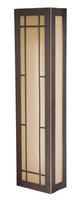 Vaxcel Lighting W0022 Oak Park 2 Light Fluorescent Wall Sconce Sienna Sale $230.00 ITEM: bci2024249 ID#:W0022 UPC: 884656727289 :