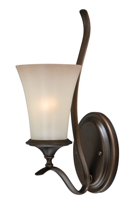 Vaxcel Lighting W0041 Sonora 1 Light Wall Sconce Venetian Bronze