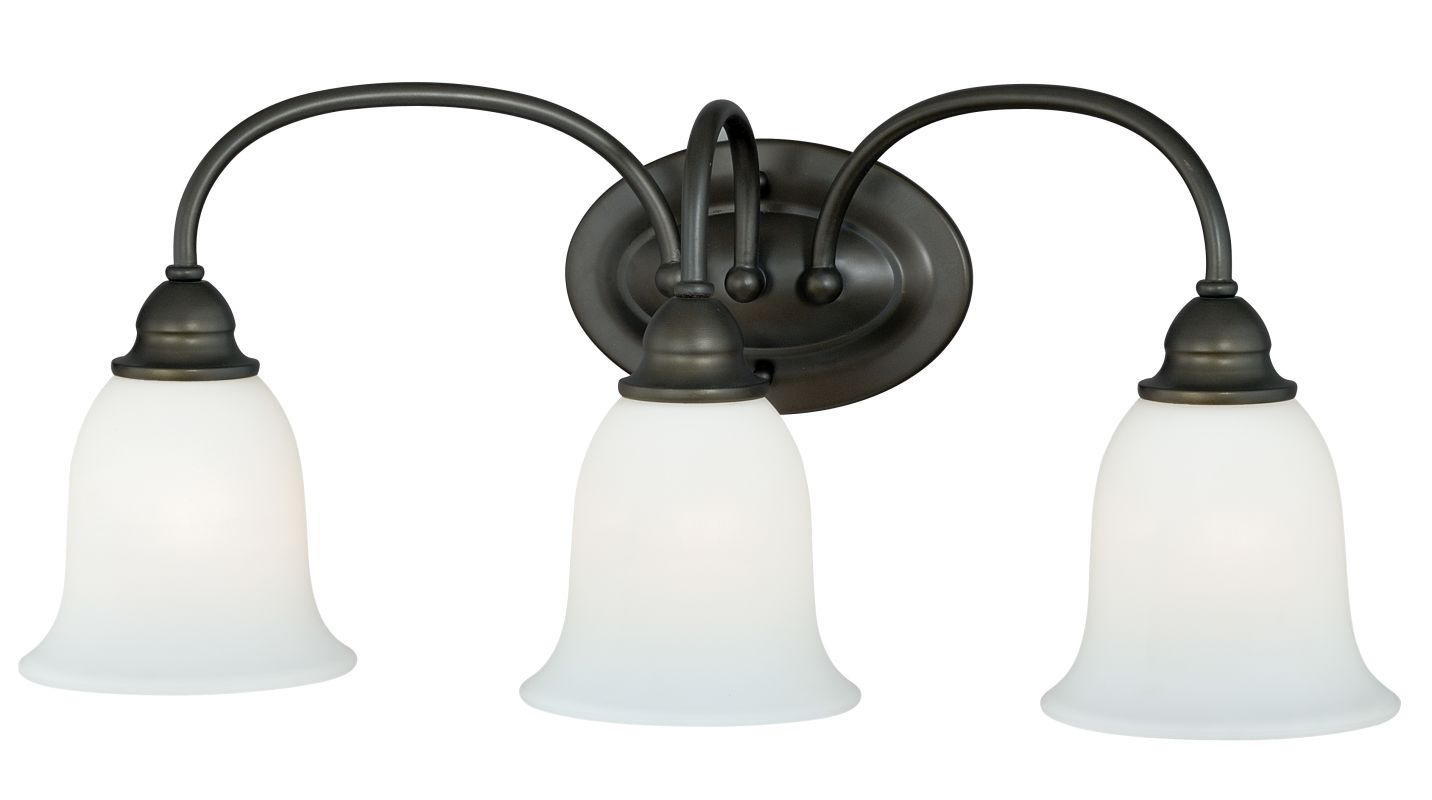 Vaxcel Lighting W0071 Concord 3 Light Bathroom Vanity Light - 24 Sale $100.00 ITEM: bci2368925 ID#:W0071 UPC: 884656729344 :