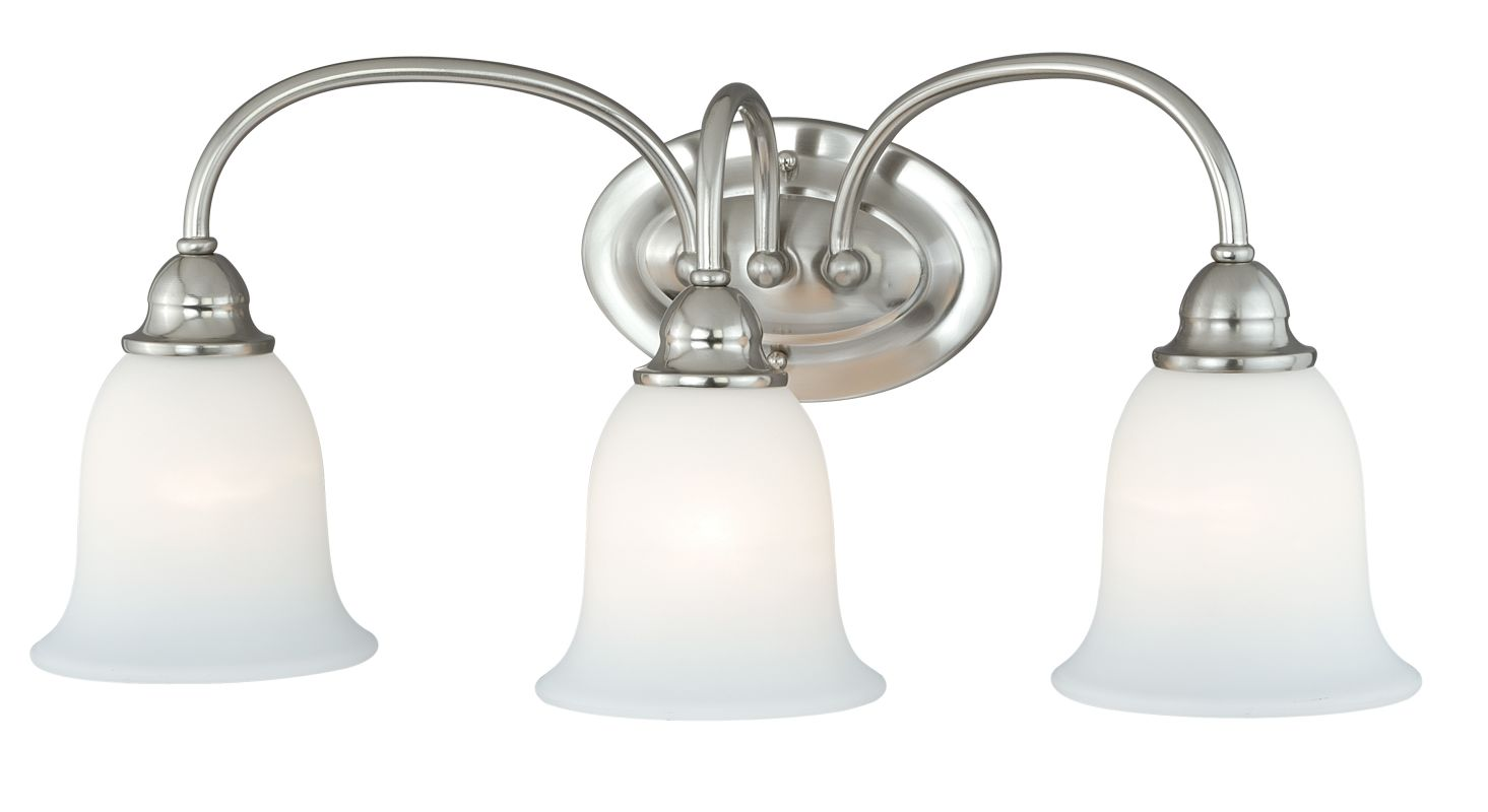 Vaxcel Lighting W0074 Concord 3 Light Bathroom Vanity Light - 24