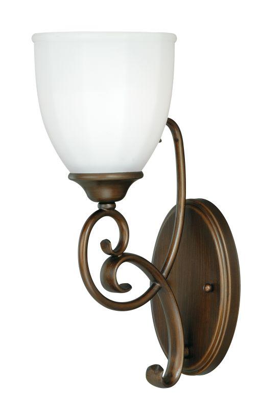 Vaxcel Lighting W0083 Venetian Bronze Claret 1 Light Bathroom Sconce Inches Wide