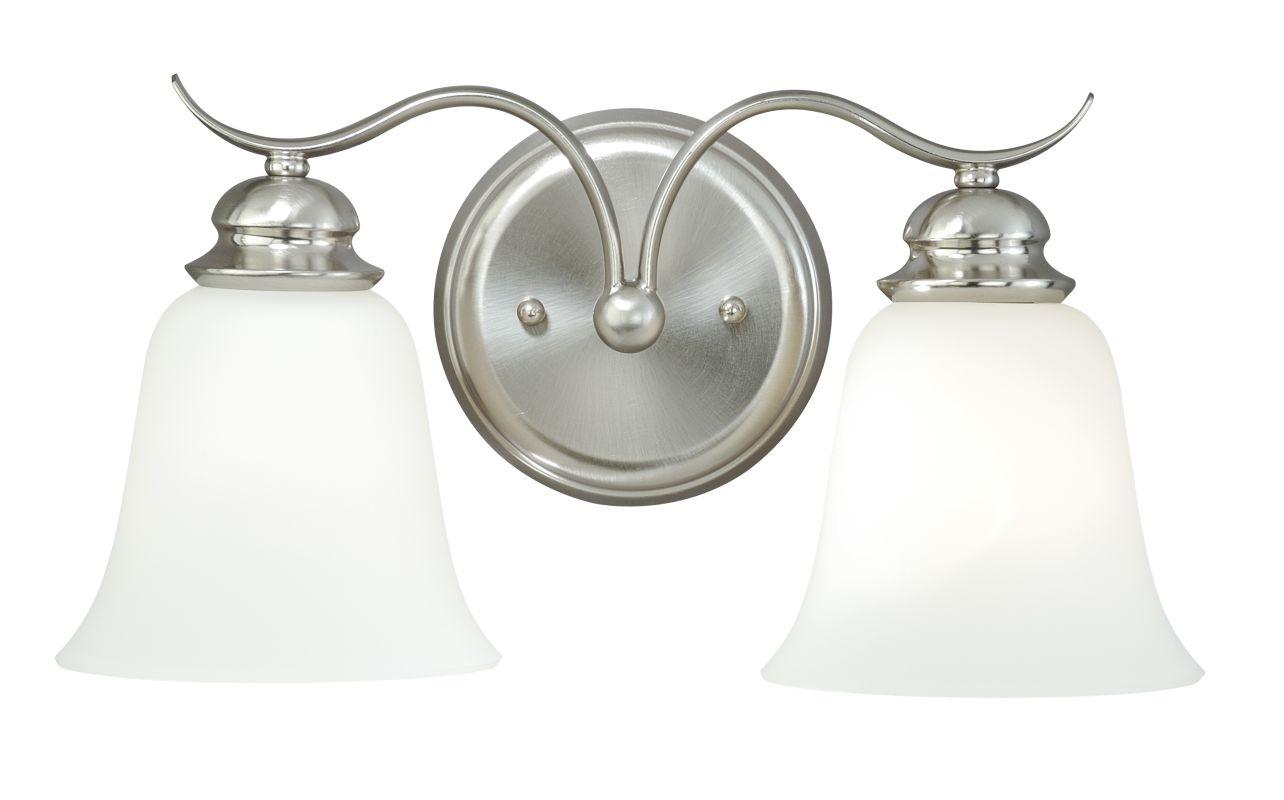 Vaxcel Lighting W0090 Darby 2 Light Bathroom Vanity Light - 15 Inches