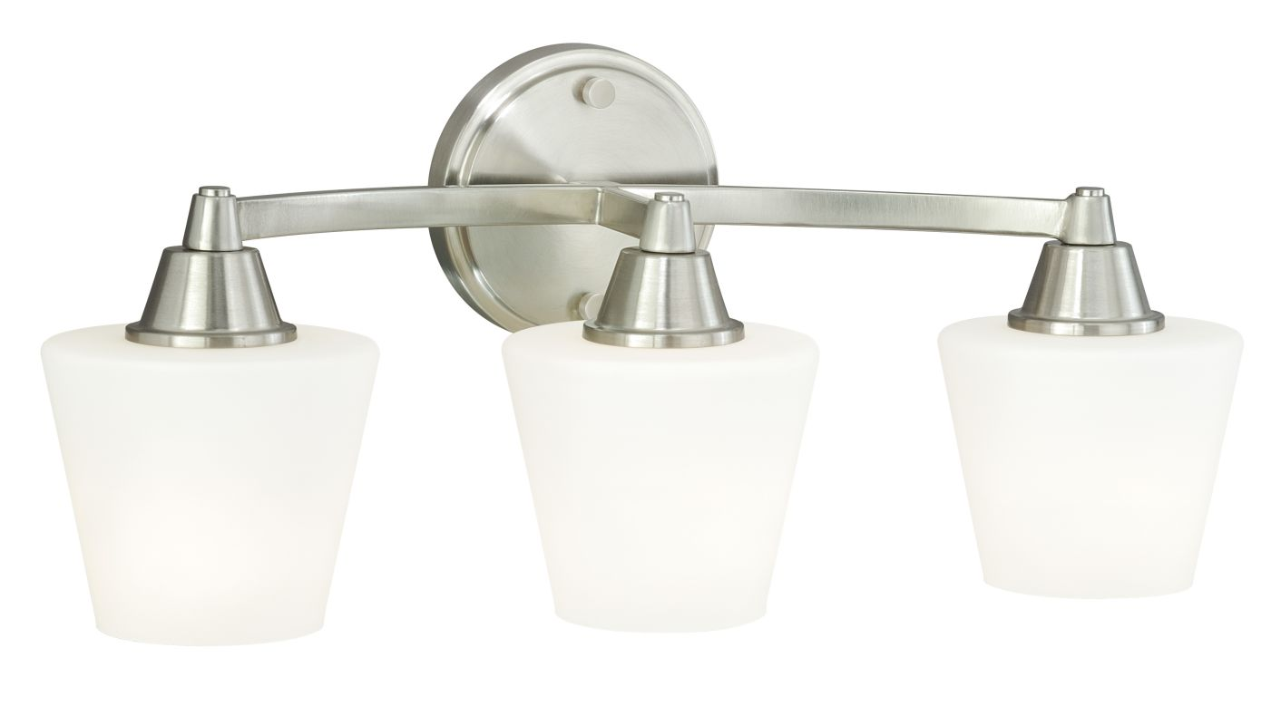 Vaxcel Lighting W0099 Calais 3 Light Bathroom Vanity Light - 20 Inches