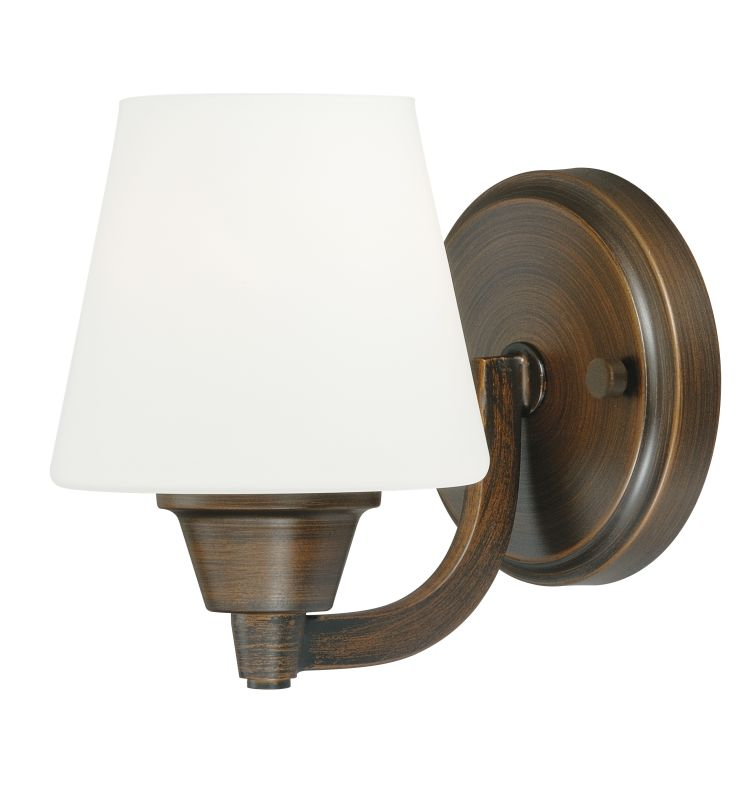 Vaxcel Lighting W0100 Calais 1 Light Bathroom Sconce - 5 Inches Wide Sale $53.50 ITEM: bci2368950 ID#:W0100 UPC: 884656730364 :