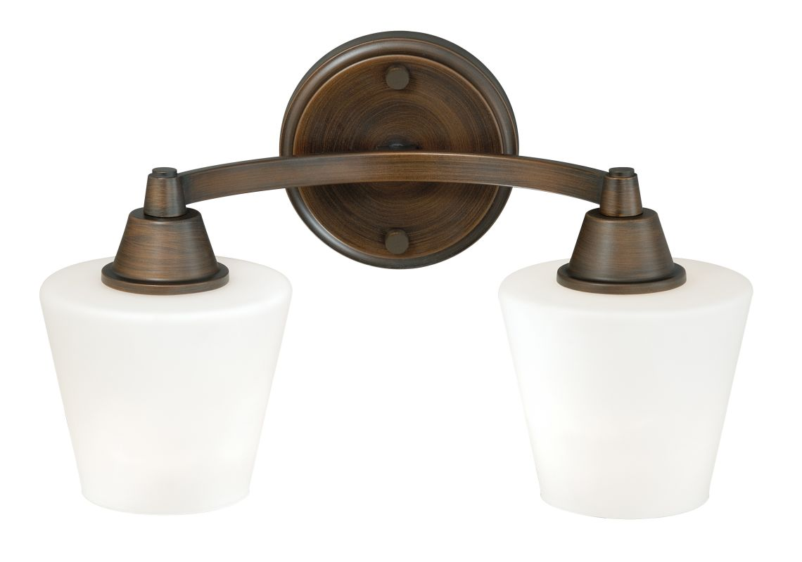 Vaxcel Lighting W0101 Calais 2 Light Bathroom Vanity Light - 14 Inches