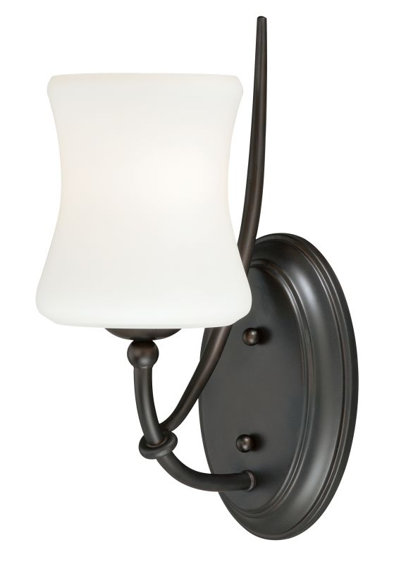 Vaxcel Lighting W0103 Poirot 1 Light Bathroom Sconce - 5 Inches Wide