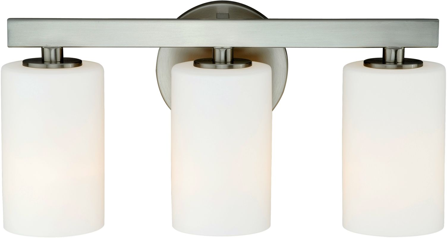 Vaxcel Lighting W0122 Glendale 3 Light Bathroom Vanity Light - 16.12