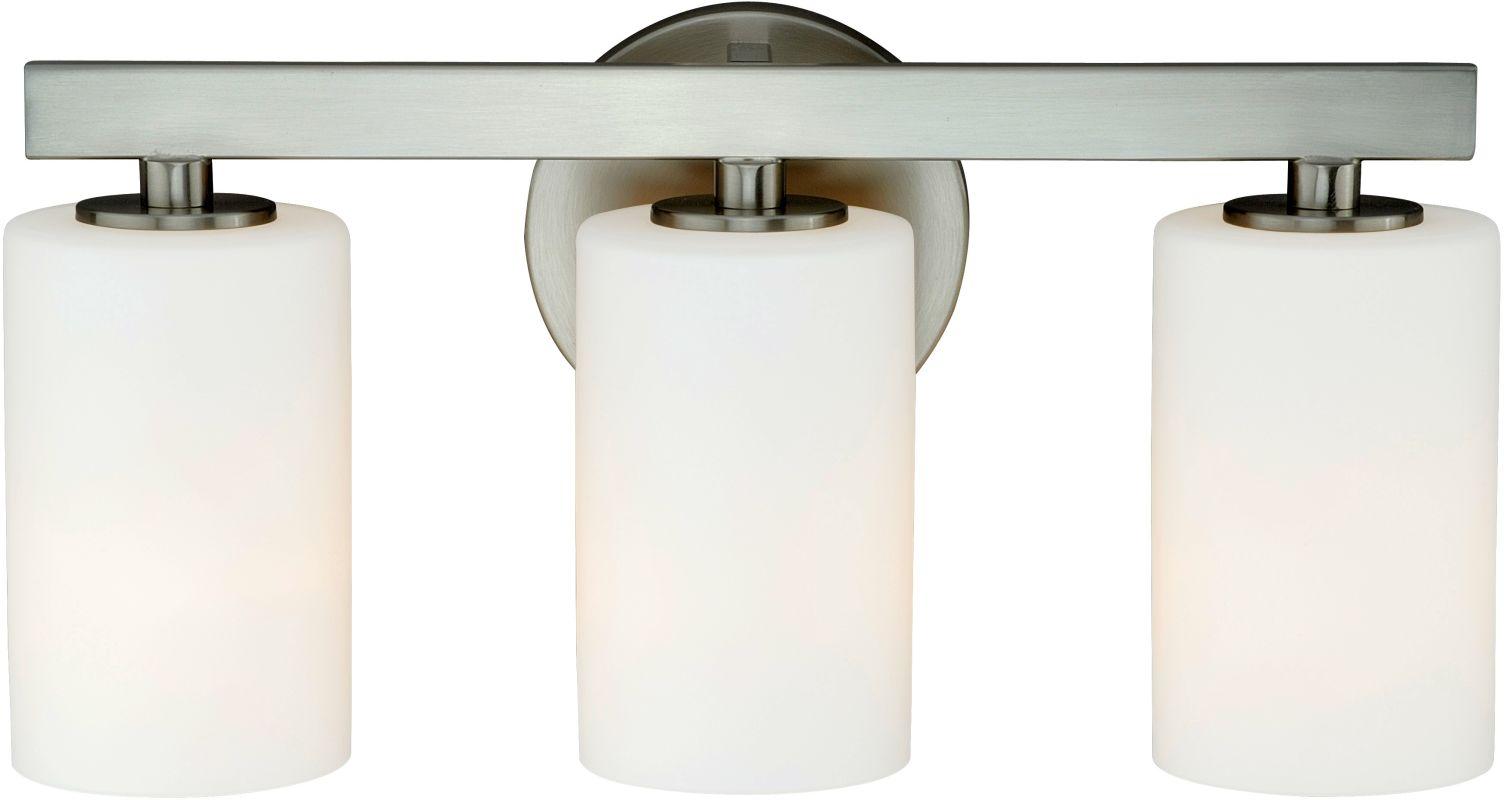 Vaxcel Lighting W0122 Glendale 3 Light Bathroom Vanity Light - 16.12
