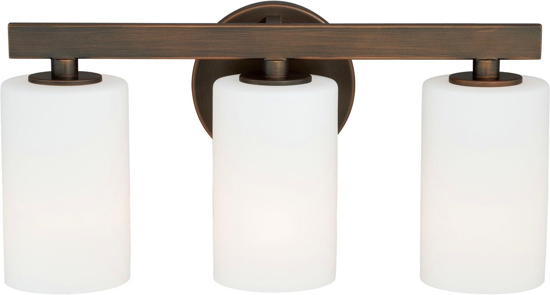 Vaxcel Lighting W0123 Glendale 3 Light Bathroom Vanity Light - 16.12