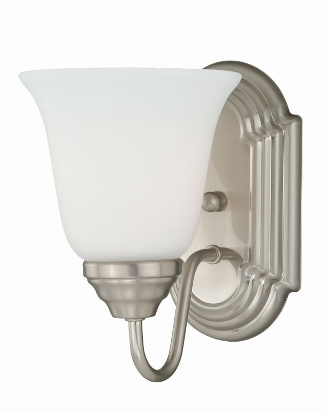 Vaxcel Lighting W0130 708 Series 1 Light Vanity Light Satin Nickel Sale $42.00 ITEM: bci2628356 ID#:W0130 UPC: 884656734423 :