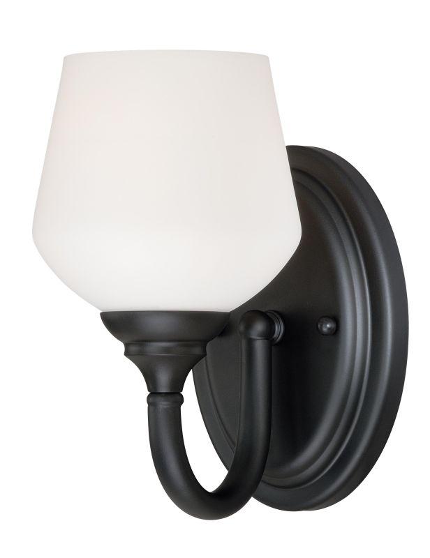 Vaxcel Lighting W0139 Grafton 1 Light Vanity Light Oil Rubbed Bronze Sale $50.00 ITEM: bci2628365 ID#:W0139 UPC: 884656733877 :