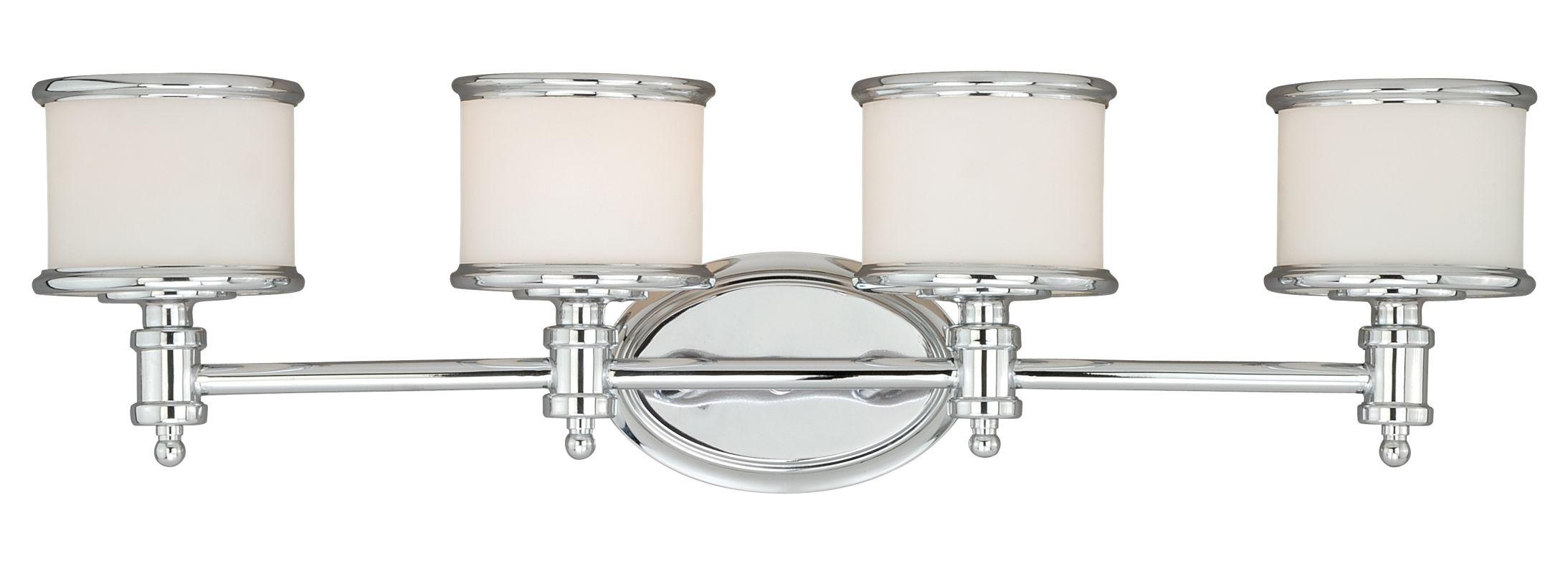 Vaxcel Lighting W0149 Carlisle 4 Light Vanity Light Chrome Indoor Sale $178.00 ITEM: bci2628375 ID#:W0149 UPC: 884656732870 :
