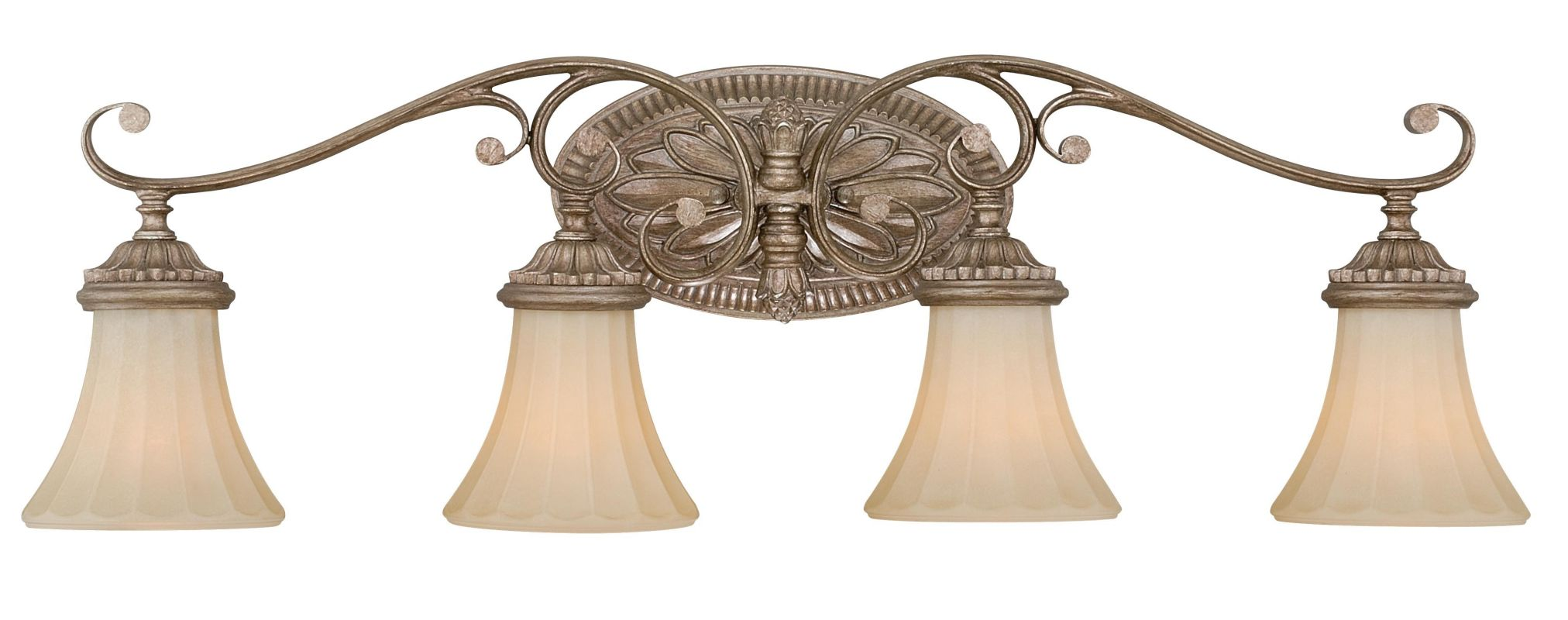 Vaxcel Lighting W0157 Avenant 4 Light Vanity Light French Bronze Sale $225.00 ITEM: bci2628383 ID#:W0157 UPC: 884656733037 :