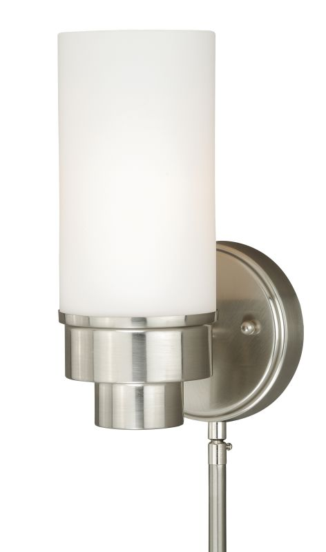 Vaxcel Lighting W0179 Tube Instalux� 1 Light Indoor Wall Sconce - 5