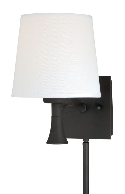 Vaxcel Lighting W0180 Chapeau Instalux� 1 Light Indoor Wall Sconce - Sale $86.00 ITEM: bci2628406 ID#:W0180 UPC: 884656734942 :