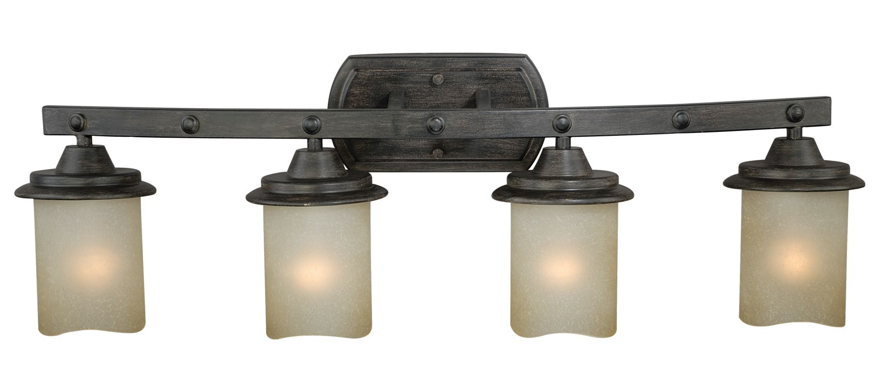 Vaxcel Lighting W0183 Halifax 4 Light Wall Sconce with Cylinder Shaped