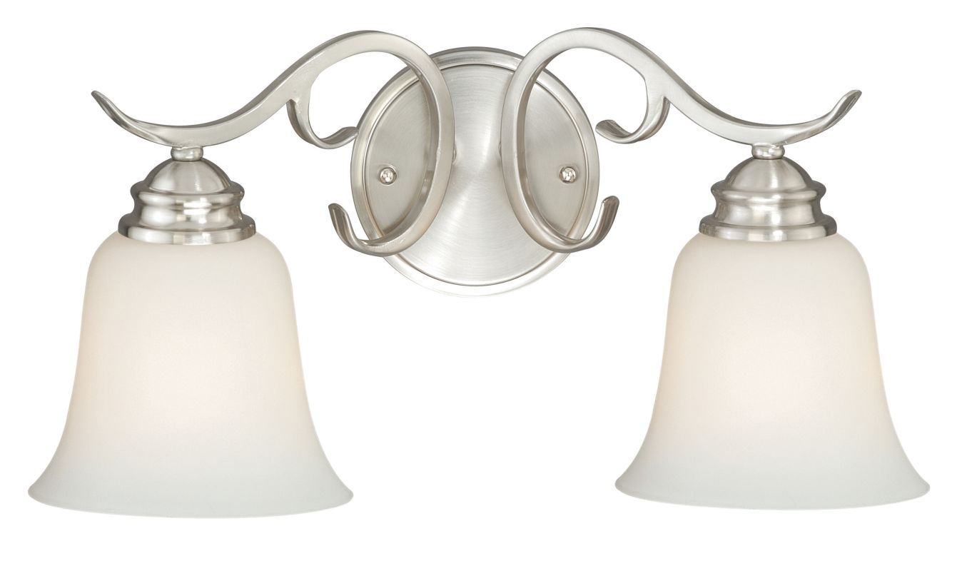 Vaxcel Lighting W0184 Hartford 2 Light Wall Sconce with Bell Shaped