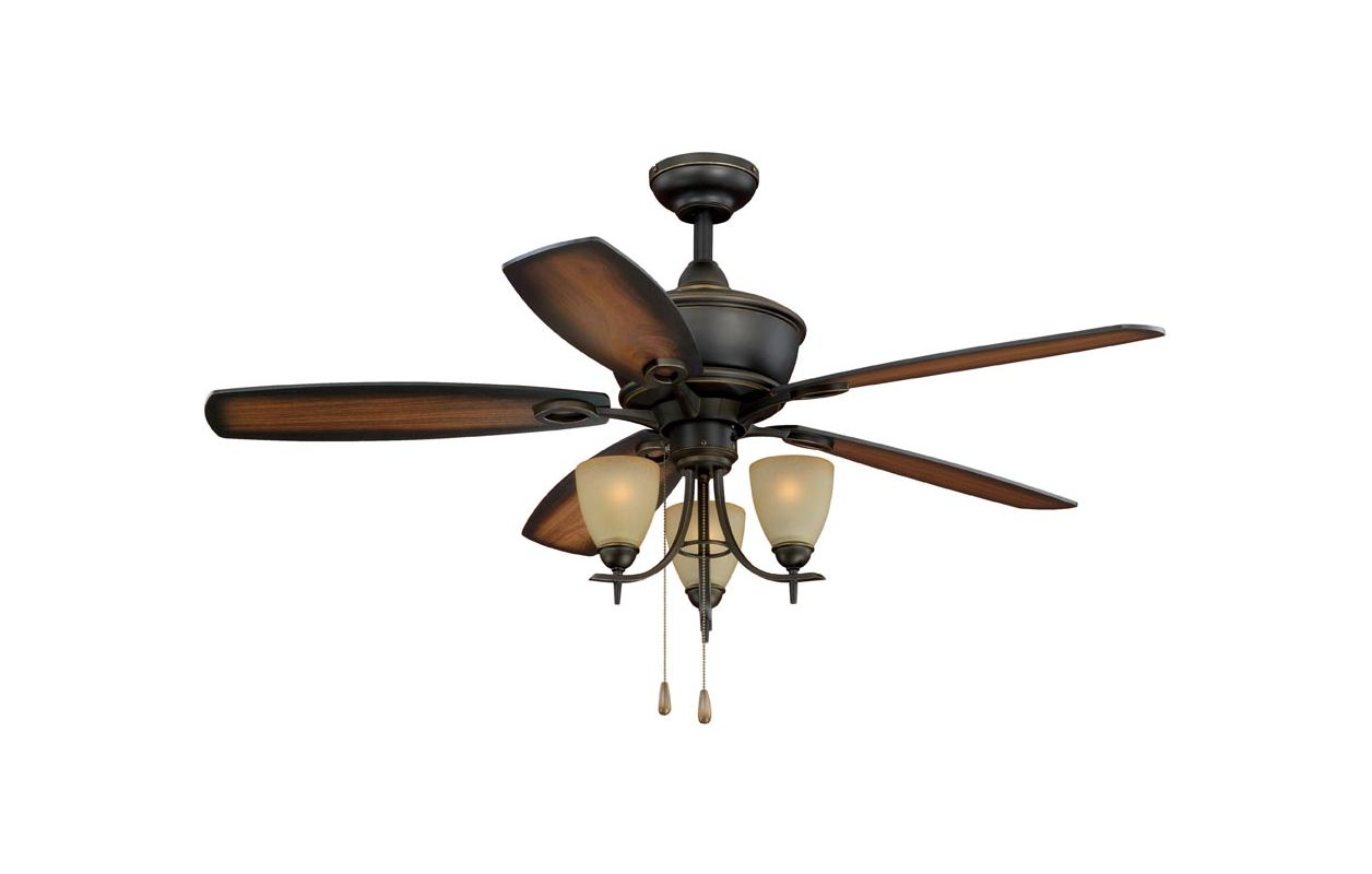 "Vaxcel Lighting FN52997 Sebring 52"" 5 Blade Indoor Ceiling Fan - Light"