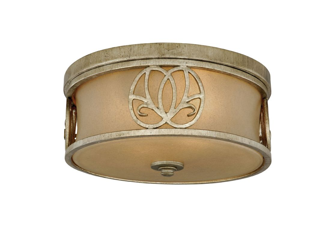 Vaxcel Lighting NB-CCU130 Newbury 2 Light Flush Mount Indoor Ceiling