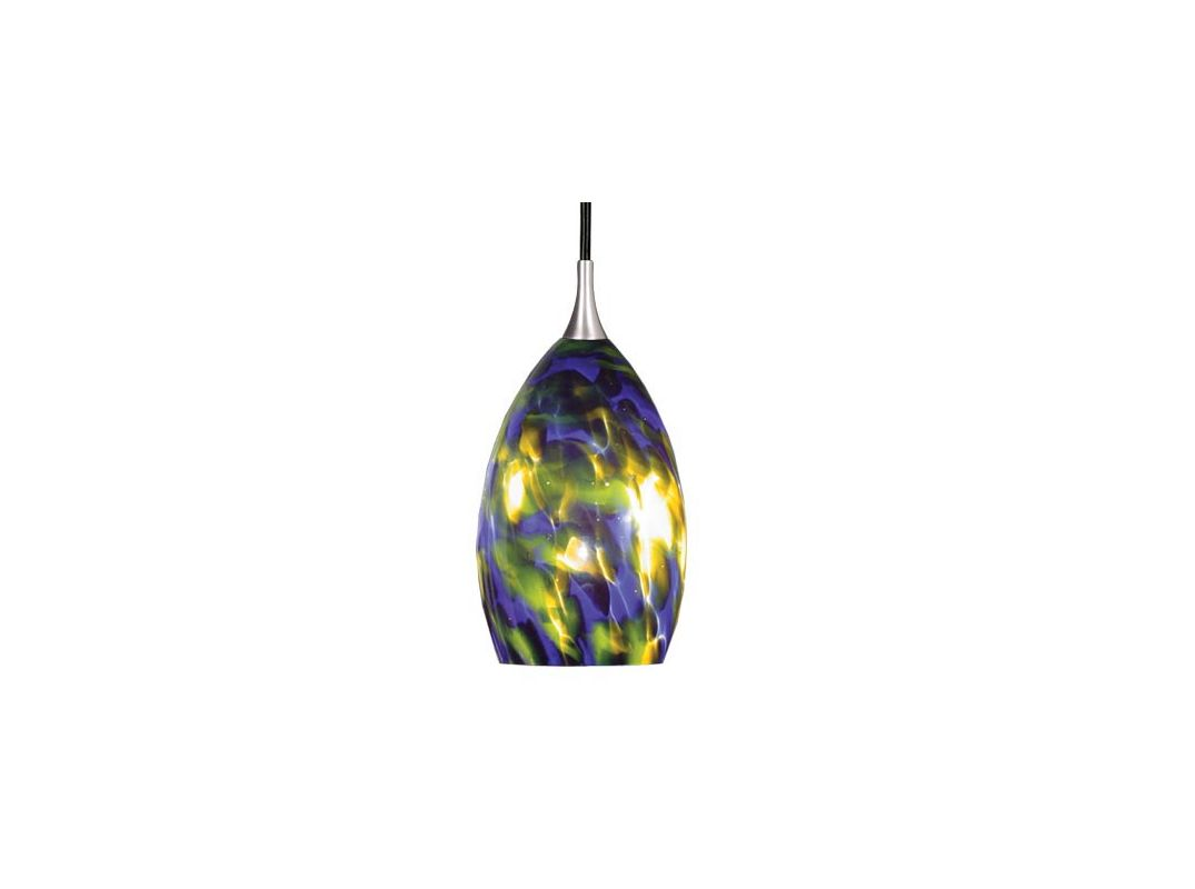 Vaxcel Lighting PD30112SN Satin Nickel Contemporary Milano Pendant
