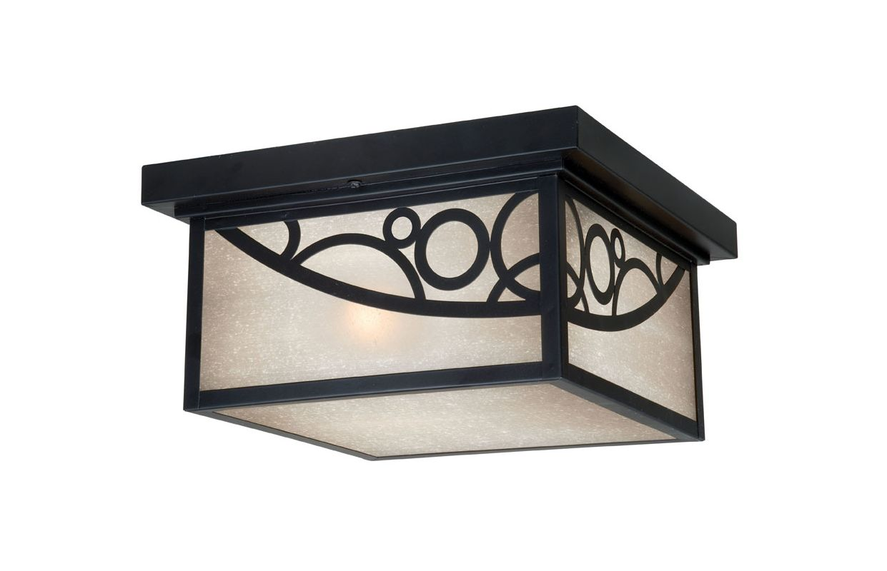 Vaxcel Lighting PO-OFU110 Prosecco 2 Light Flush Mount Outdoor Ceiling