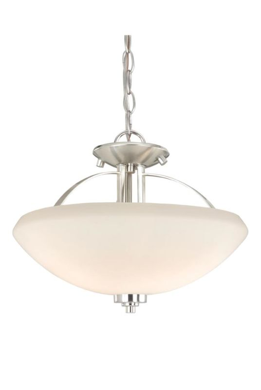 Vaxcel Lighting SA-CFU140 Solna 2 Light Semi-Flush Indoor Ceiling