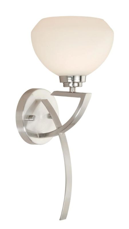 Vaxcel Lighting SA-VLU001 Solna 1 Light Bathroom Sconce - 8.75 Inches