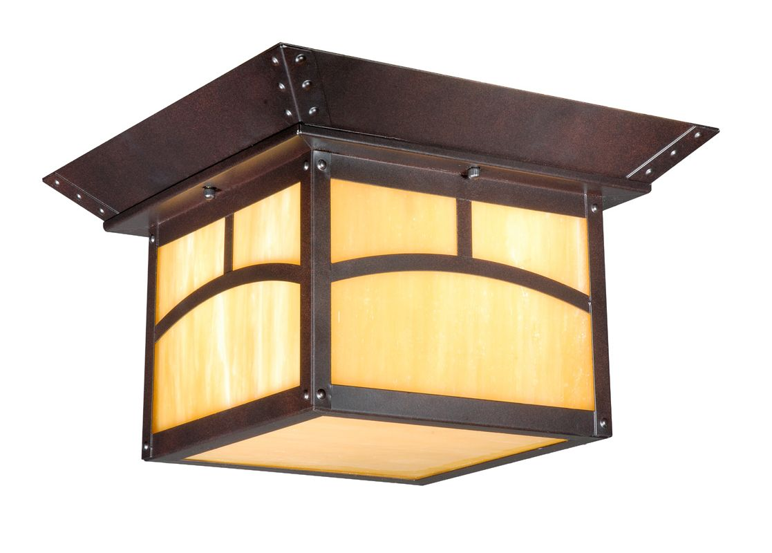 Vaxcel Lighting TL-OFU110 Taliesin 2 Light Flush Mount Outdoor Ceiling