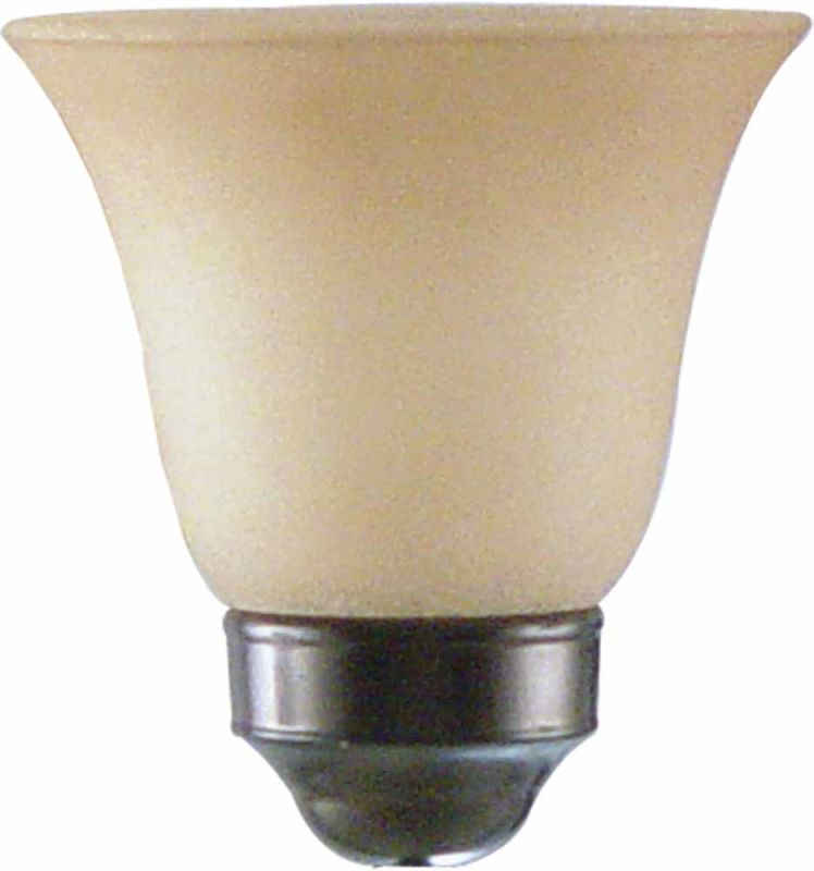 "Volume Lighting GS-153 4.75"" Height Sandstone Glass Bell Ceiling Fan"