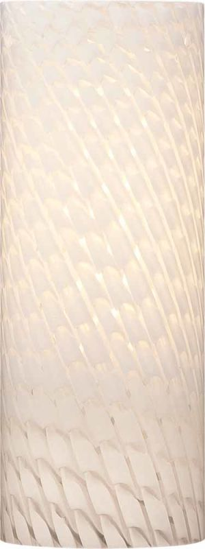 "Volume Lighting GS-308-5 Pack of 5 - 8"" Height White Frit Glass"