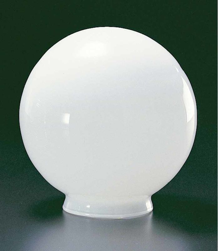 "Volume Lighting GS-32 6.25"" Height White Glass Globe Shade White"