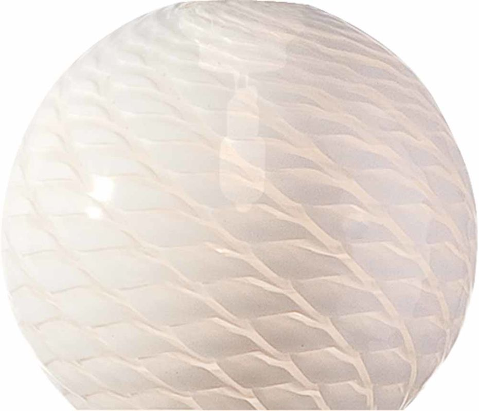 "Volume Lighting GS-442-3 Pack of 3 - 3.25"" Height White Frit Glass"