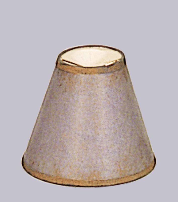"Volume Lighting V0011 Lafayette 5"" Height Empire Shade Prairie Rock"