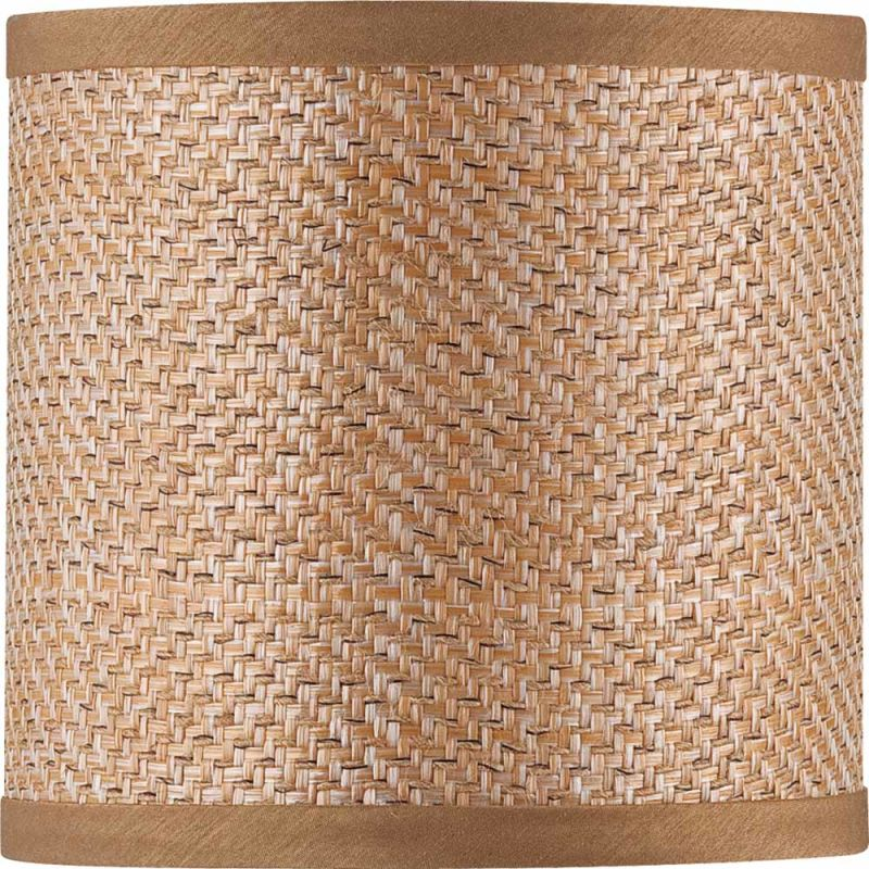 "Volume Lighting V0018 6"" Height Round Shade Basketweave Accessory Sale $19.00 ITEM: bci2147727 ID#:V0018-29 :"