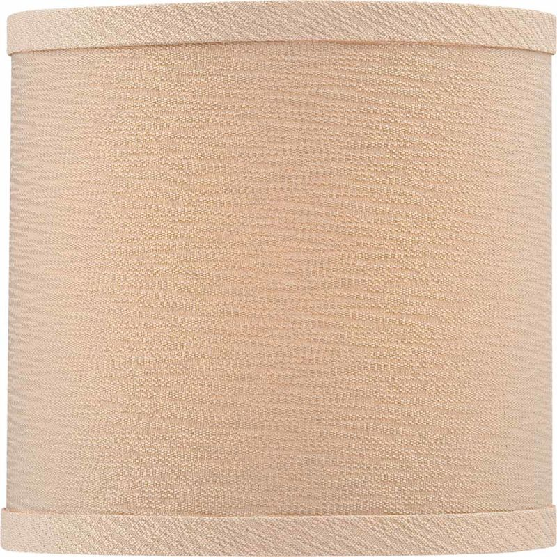"Volume Lighting V0018 6"" Height Round Shade Handcrafted Linen"