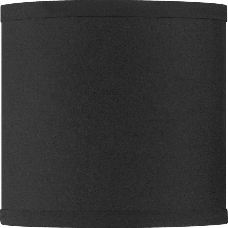 "Volume Lighting V0018 6"" Height Round Shade Black Accessory Shades"