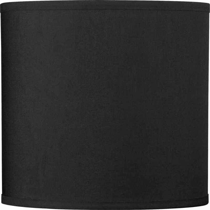Volume Lighting V0020 10&quote Height Drum Shade Black Accessory Shades