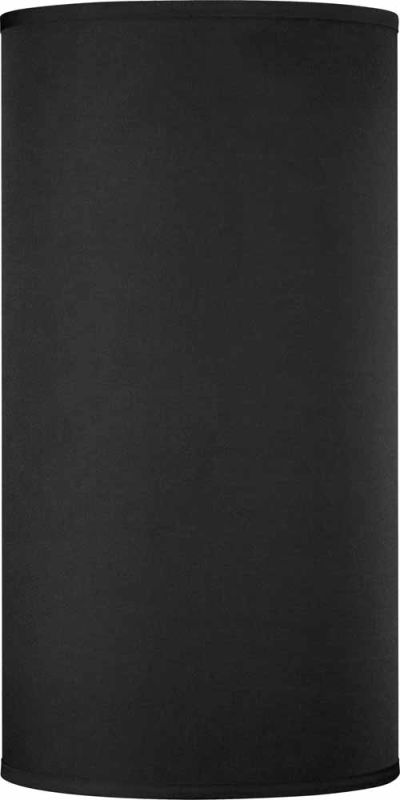 Volume Lighting V0027 20&quote Height Cylindrical Shade Black Accessory